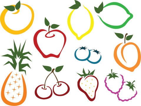 Fruit and Berry icons
