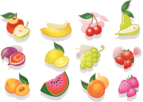 Fruits Stock Illustration - Download Image Now