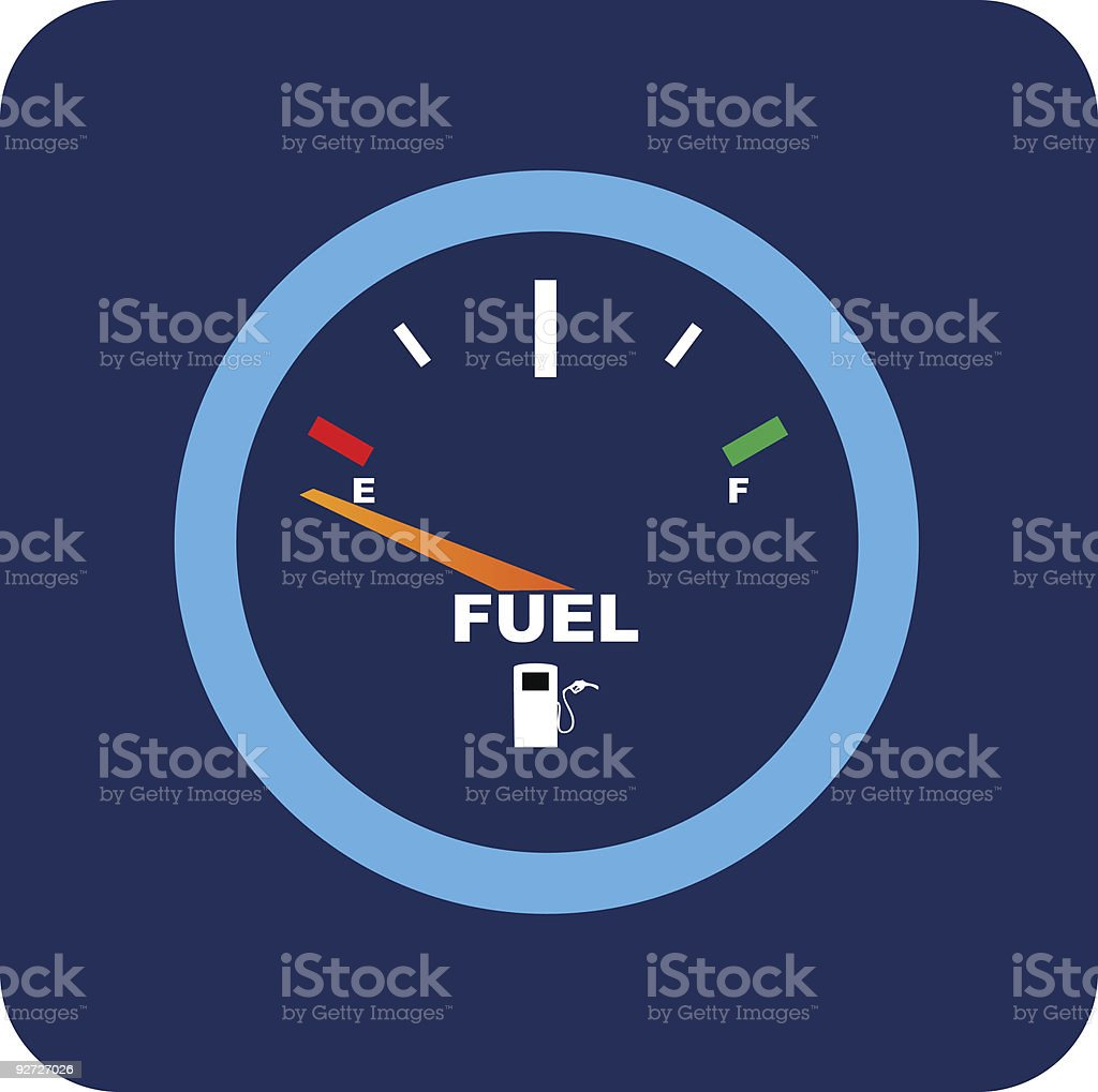 Fuel royalty-free stock vector art
