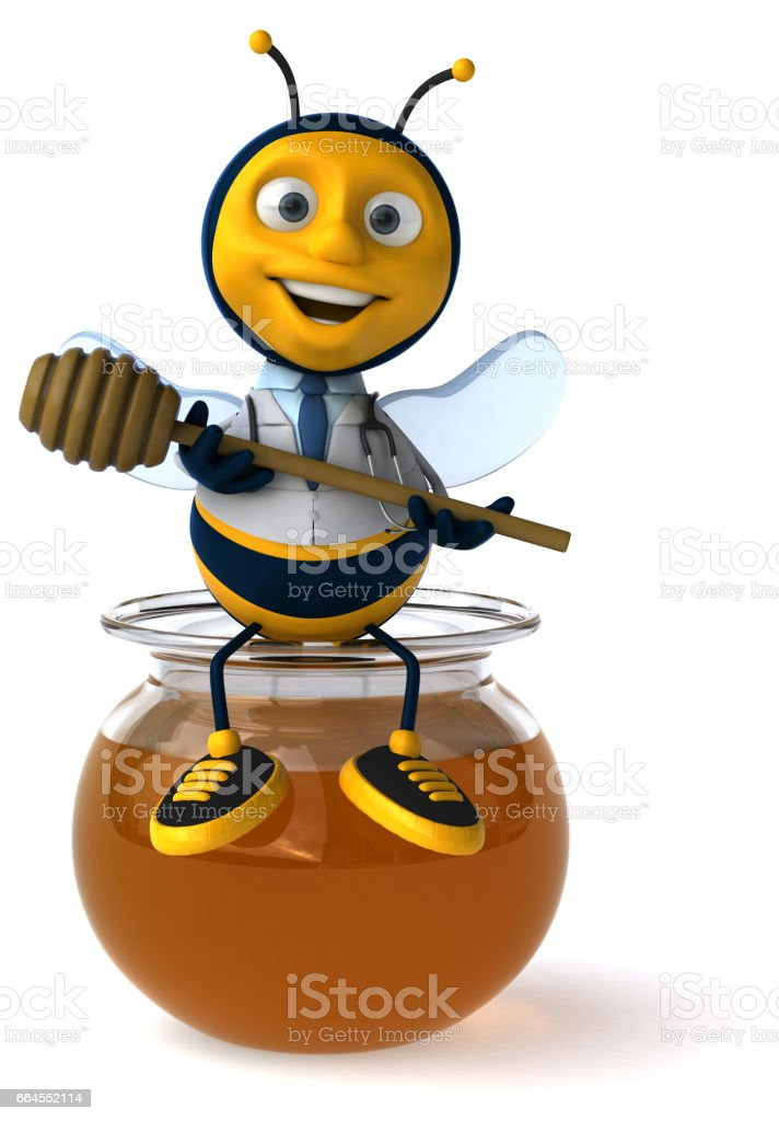 Fun bee royalty-free fun bee stock vector art & more images of animal