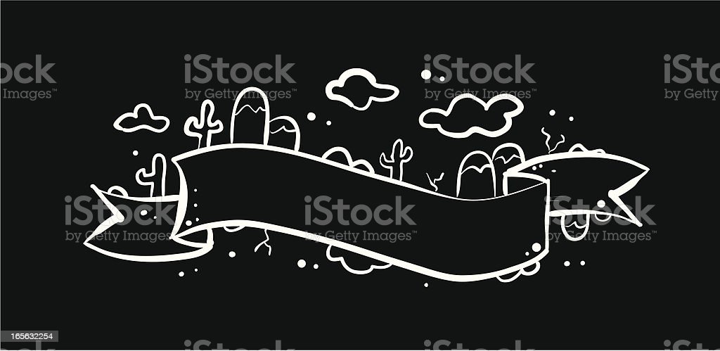 Funky Banner royalty-free stock vector art