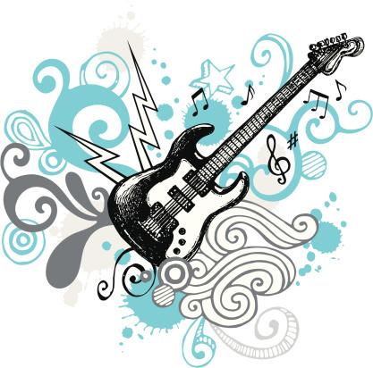 Funky Guitar Design