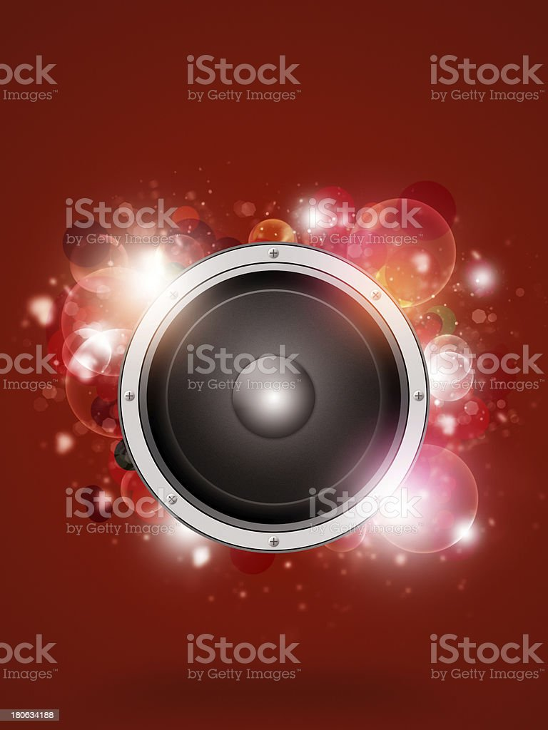 Funky Red Music Background royalty-free funky red music background stock vector art & more images of abstract