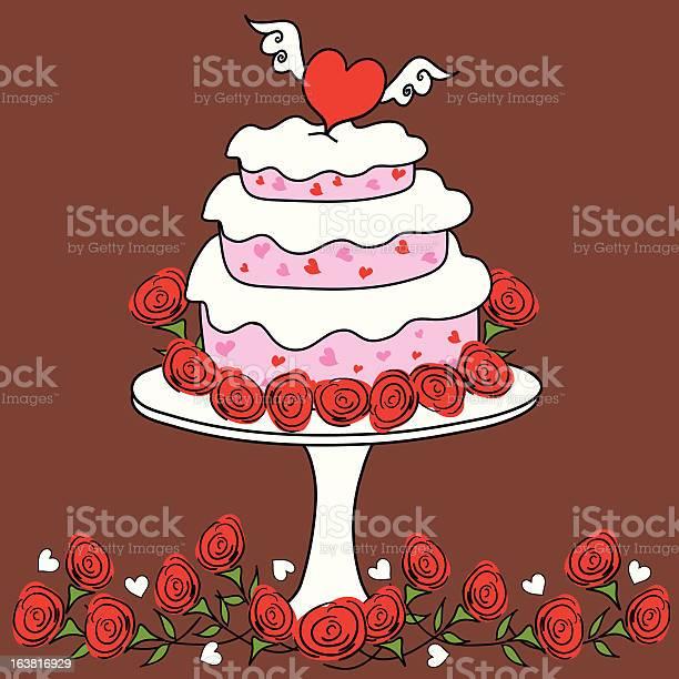 Funky wedding heart cake illustration id163816929?b=1&k=6&m=163816929&s=612x612&h=bij6fl160bns fctwydnqt0fyp6d8v3kwdkvd5 vtmc=