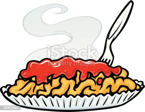 Funnel Cake Plate Stock Vector Art Amp More Images Of Baked