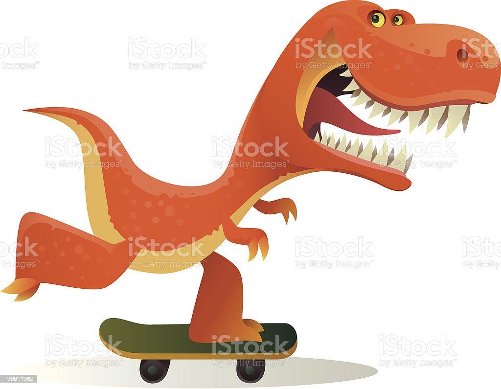 funny dinosaur - Royalty-free Animal stock vector