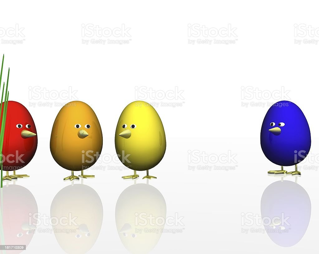 funny easter eggs royalty-free funny easter eggs stock vector art & more images of animal