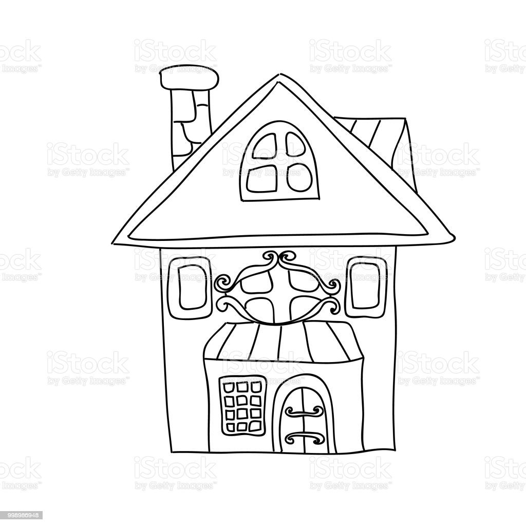 Ilustración de Niños De La Casa Divertido Cuento De Hadas Para ...