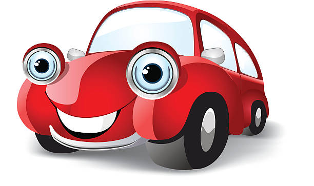 Voiture drole vectoriels et illustrations libres de droits - Image voiture drole ...