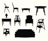 Furniture Silhouettes