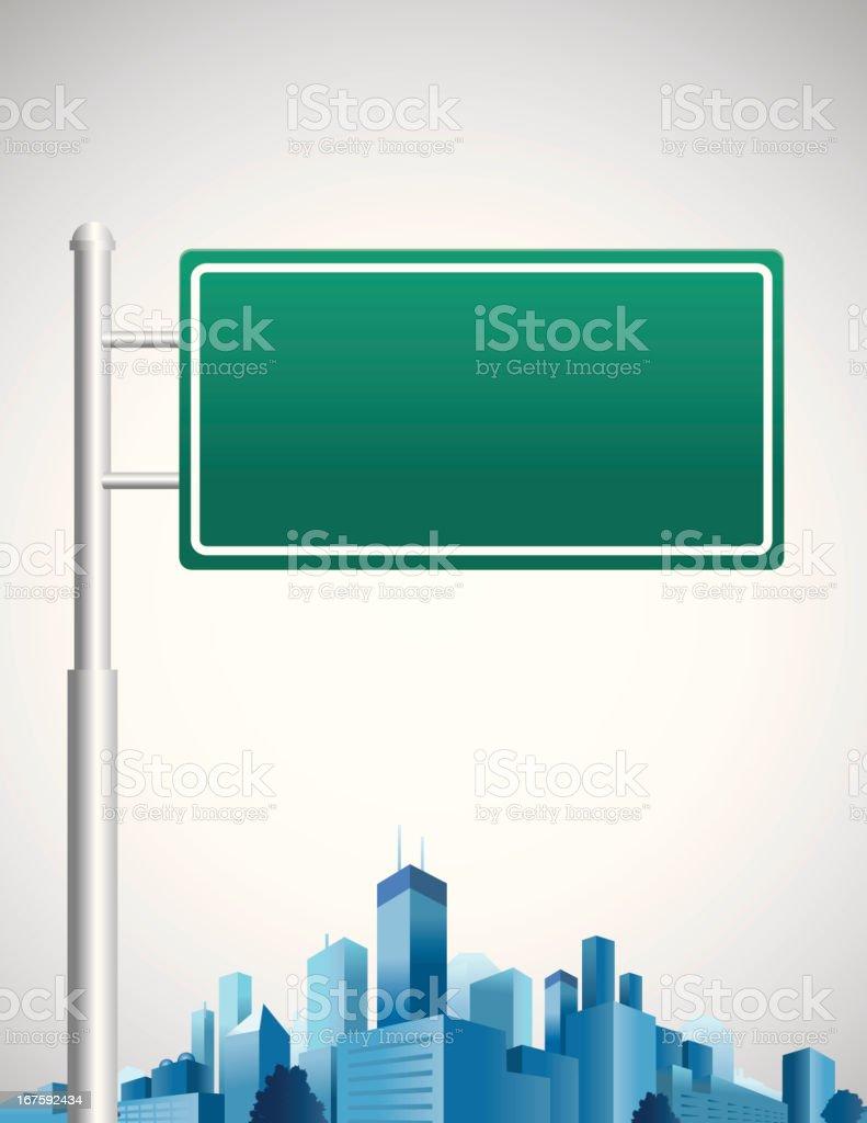 Karriere Road Sign – Vektorgrafik