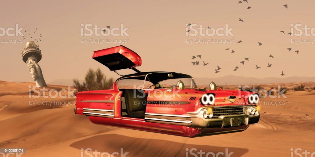 Future of The NewYork vector art illustration