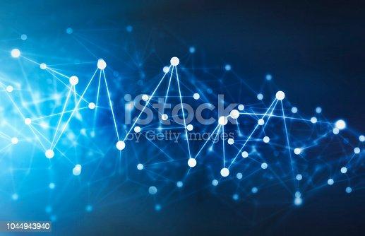 istock Futuristic Digital Technology Background 1044943940