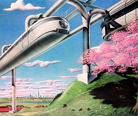 Futuristic Monorail