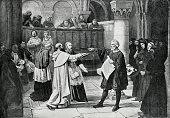 istock Galileo Galilei At The Inquisition 517874502