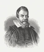 istock Galileo Galilei (1564-1642), wood engraving, published in 1864 165212542