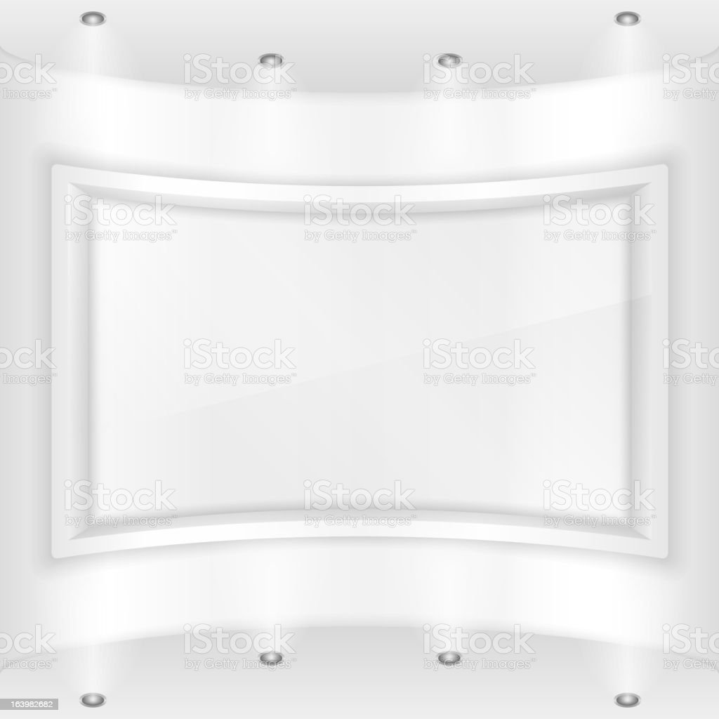 Gallery royalty-free stock vector art