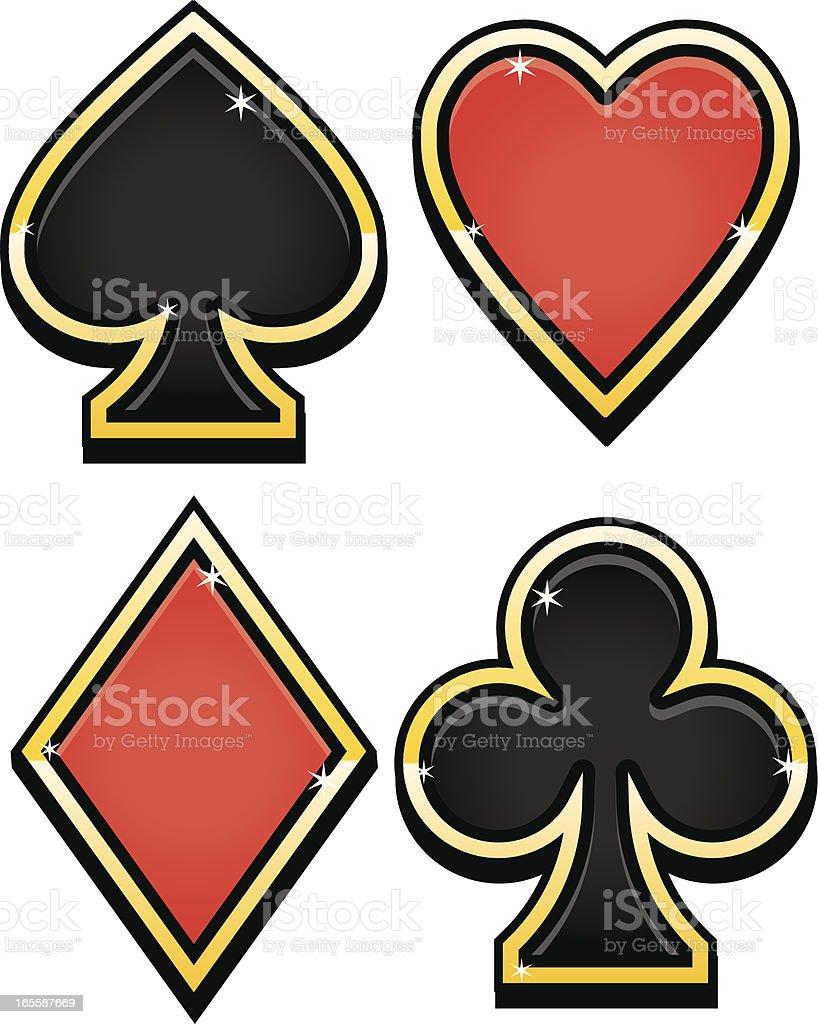 gamble royalty-free stock vector art