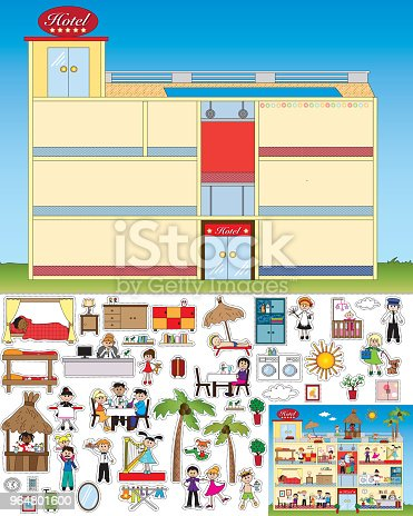 Game For Children Stock Vector Art & More Images of Adult 964801600