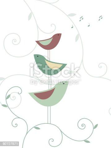 istock Garden birds 92727571