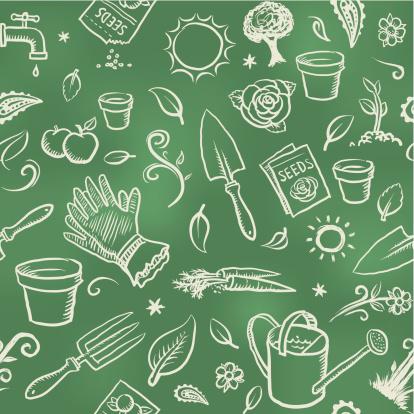 Gardening wallpaper background