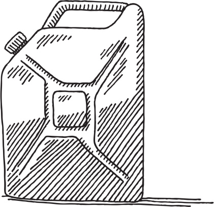 Gas Can Drawing
