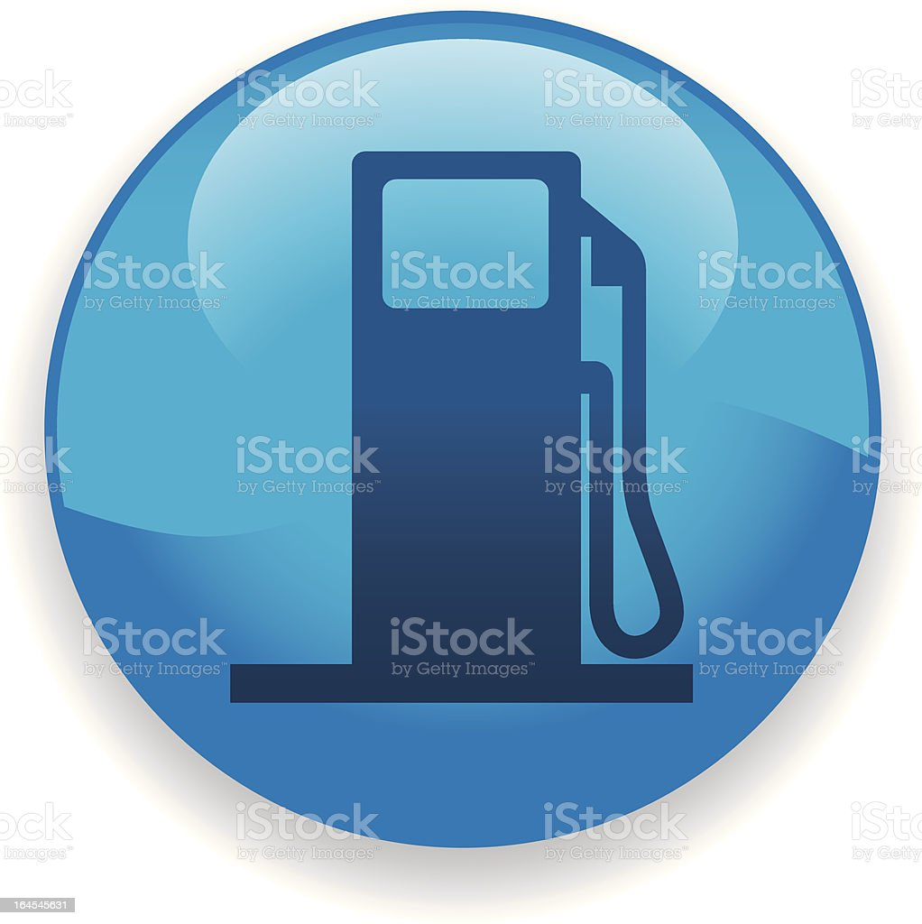 Gas Icon vector art illustration