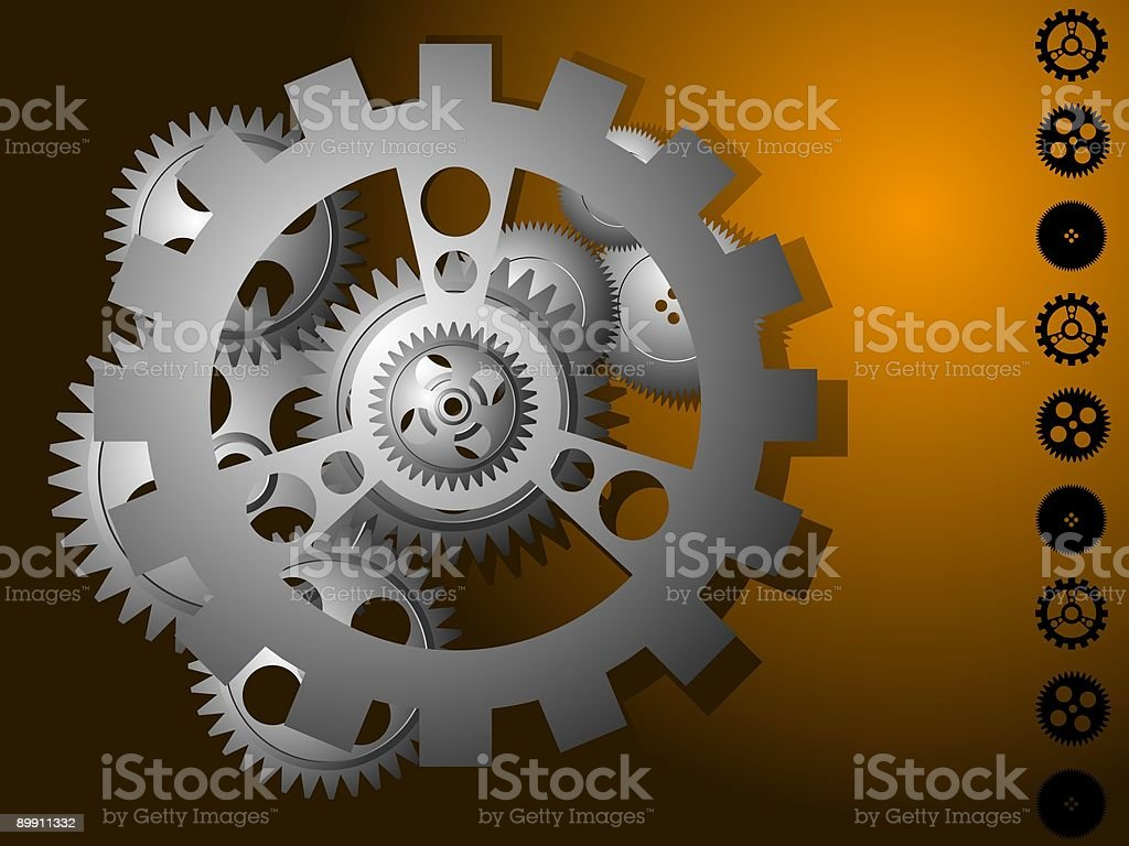 Gear royalty-free gear stock vector art & more images of above