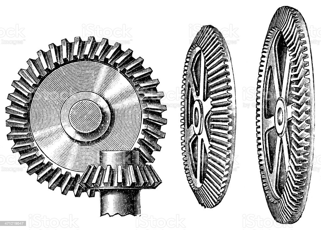 gears royalty-free gears stock vector art & more images of business finance and industry