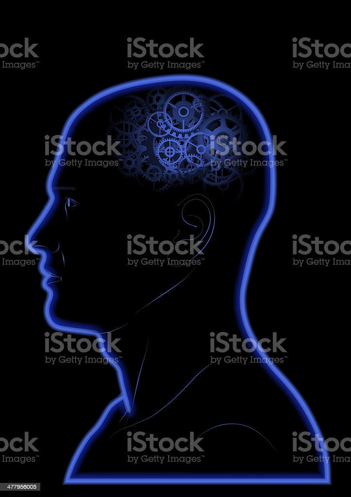 Gears In The Head royalty-free gears in the head stock vector art & more images of big idea