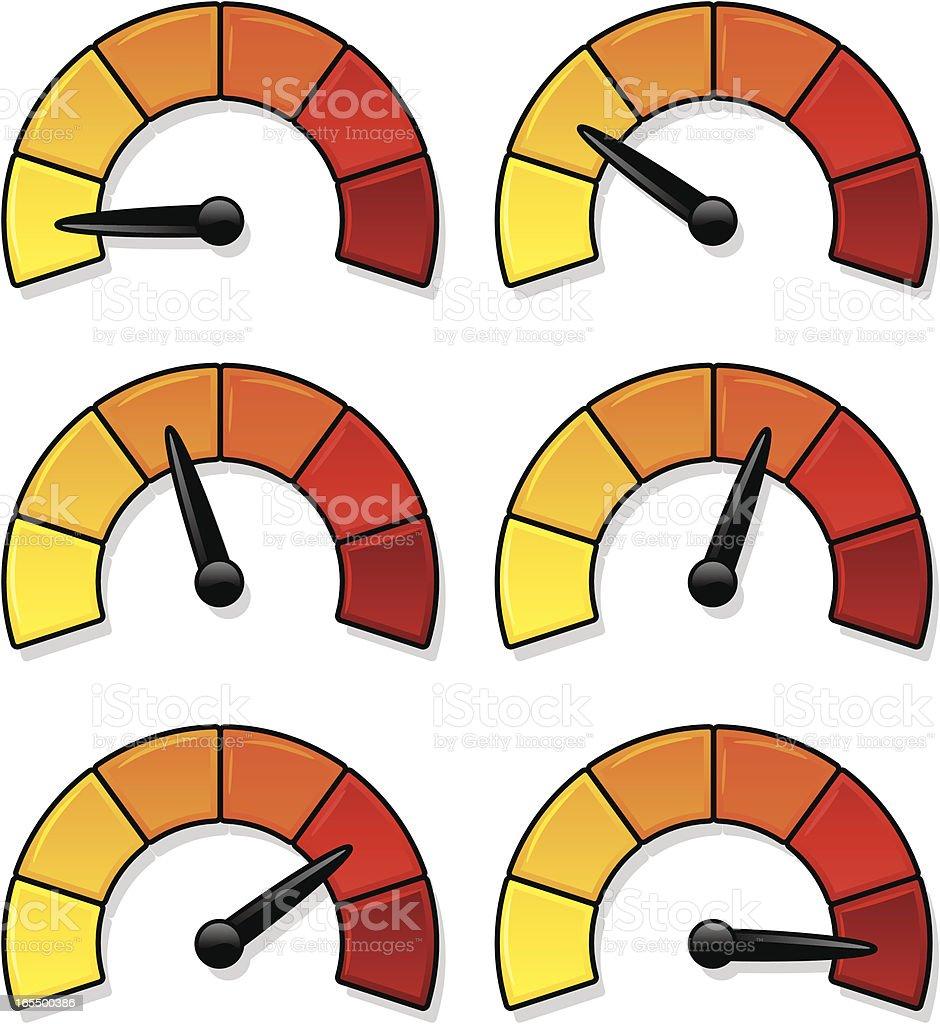 gel dials royalty-free gel dials stock vector art & more images of gauge