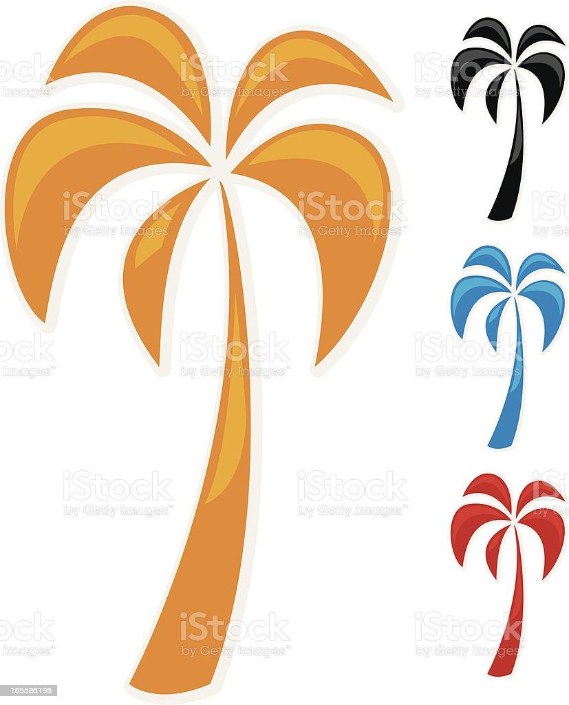gel palm royalty-free stock vector art