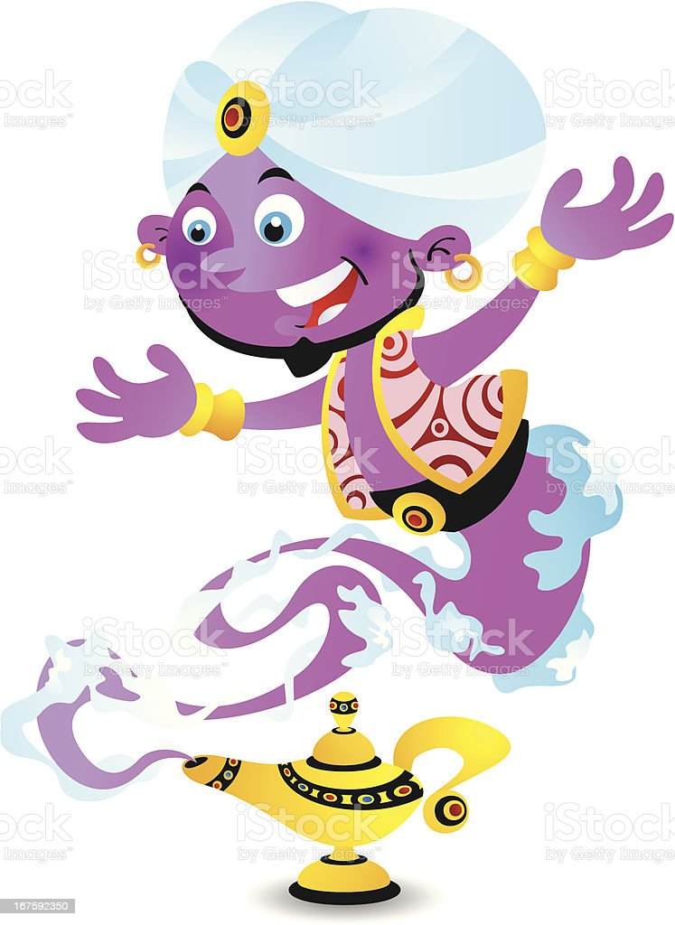 Genie royalty-free genie stock vector art & more images of cartoon