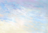 istock Gentle sunrise - abstract painted background 473796858