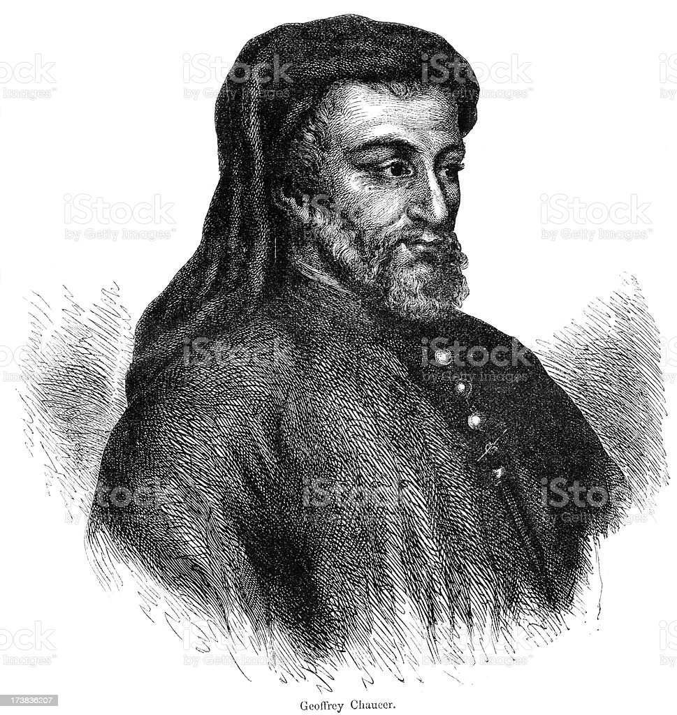 Geoffrey Chaucer royalty-free geoffrey chaucer stock vector art & more images of adult