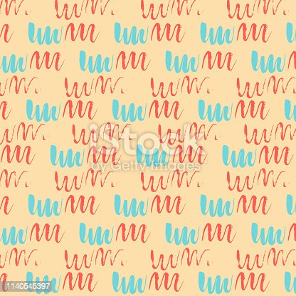 Geometric abstract pastel multicolored pattern, yellow, blue and red colors background, minimalist symmetrical texture