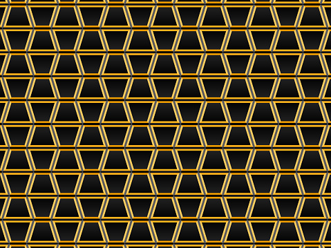 Geometric pattern of trapezoids for backgrounds