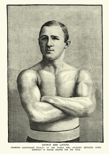 Vintage illustration of George Henry