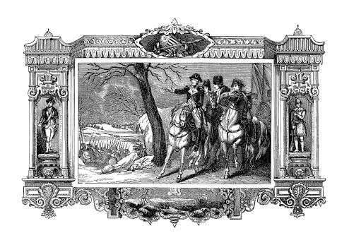 George Washington Crossing the Delaware River   Historic American Illustrations