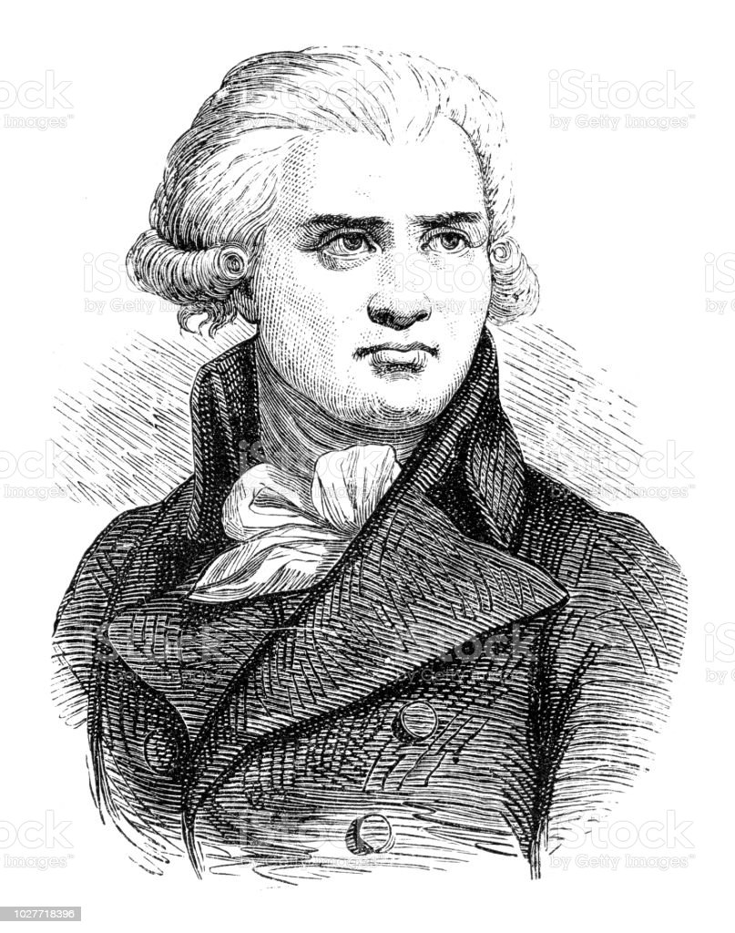 Georges Danton georges jacques danton leader of french revolution stock