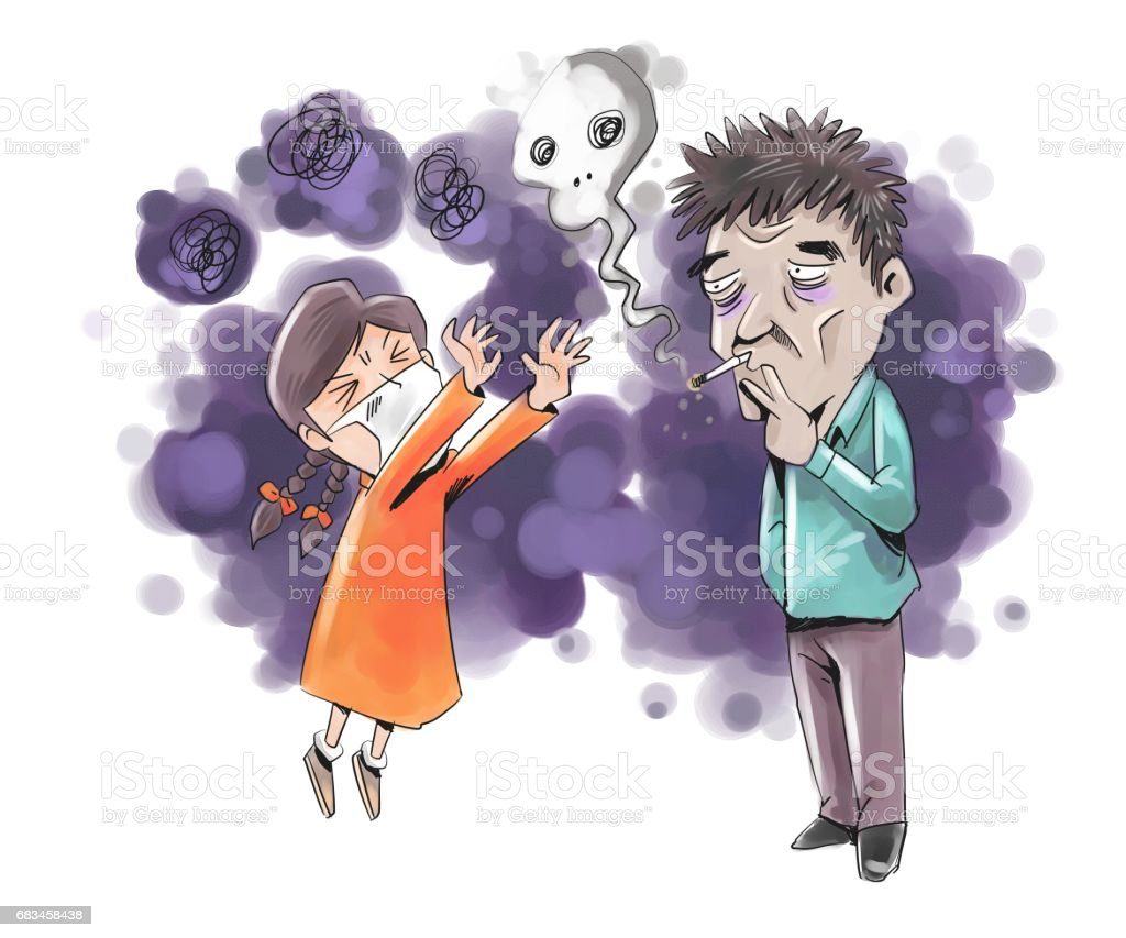 Geriatric disease vector art illustration