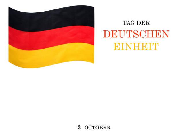 ilustrações de stock, clip art, desenhos animados e ícones de german flag. beautiful greeting card. national holiday - berlin wall