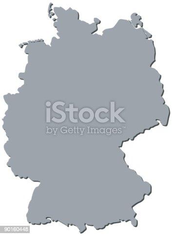 German Map Germany Maps