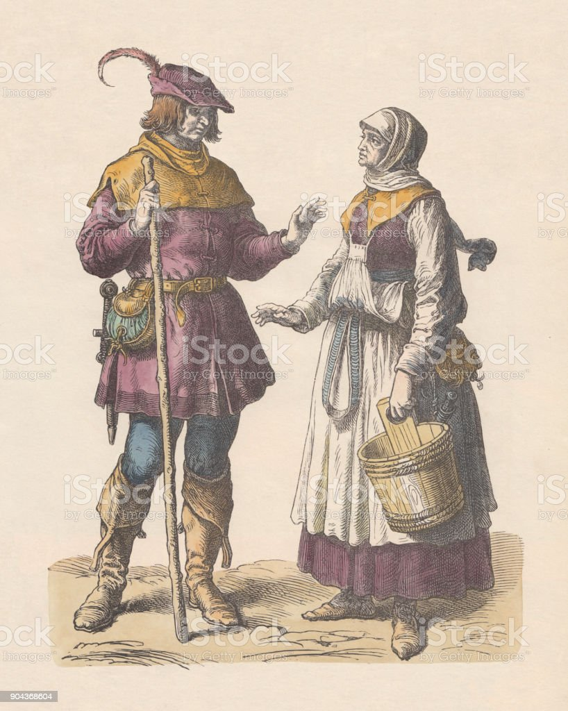 a description of peasants of the early sixteenth century It varied according to where they lived, and their degree of wealth some peasants held more land than others, and were more prosperous in england, enclosure of land was taking place in the course of the century, and there was a general decline of the standard of living, which led to hardship for many.