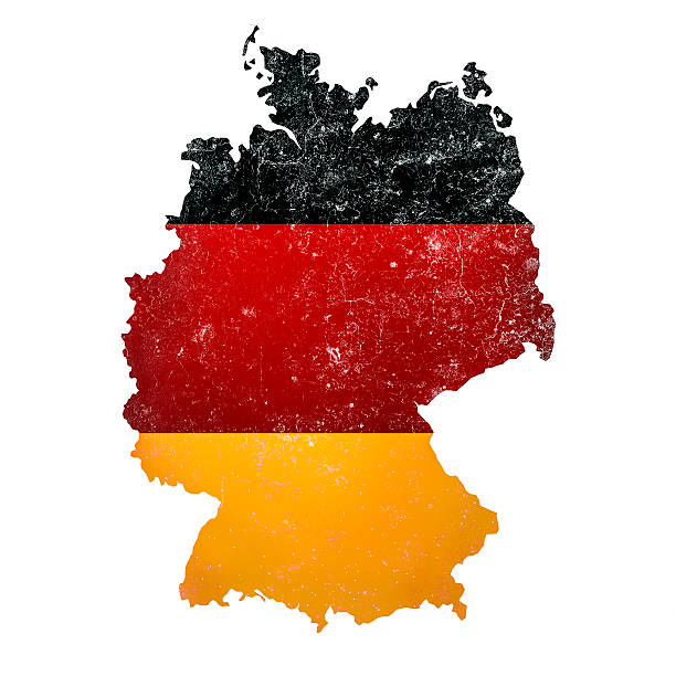 ilustraciones, imágenes clip art, dibujos animados e iconos de stock de alemania - bandera alemana