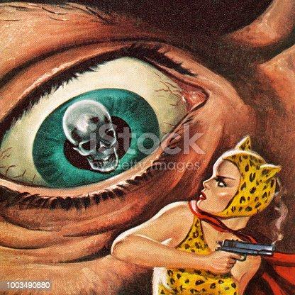 Giant Skull Eye
