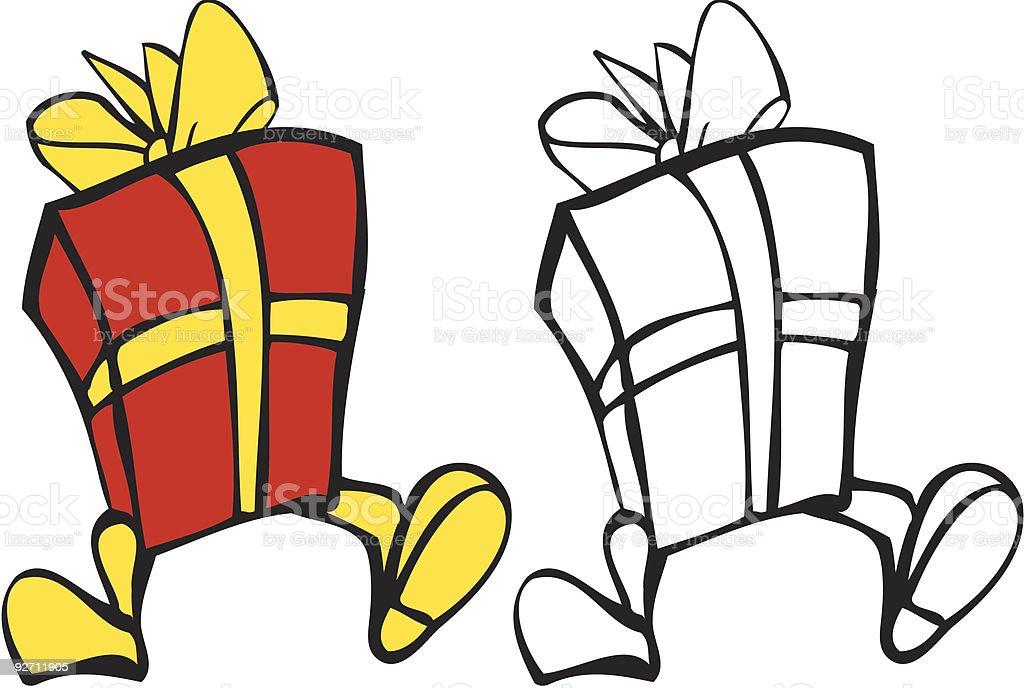 Geschenk Box Parade – Vektorgrafik