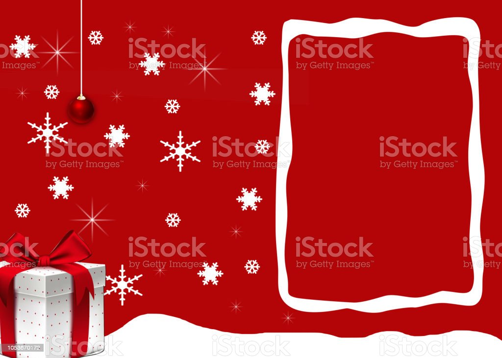 Gift Card New Year Background Stock Vector Art More Images Of 2019