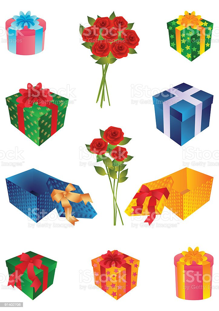 gifts royalty-free gifts stock vector art & more images of anniversary