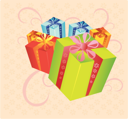 Gifts Stock Illustration - Download Image Now